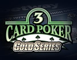 Three Card Poker Gold Series