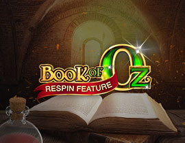 Book of Oz tragamonedas
